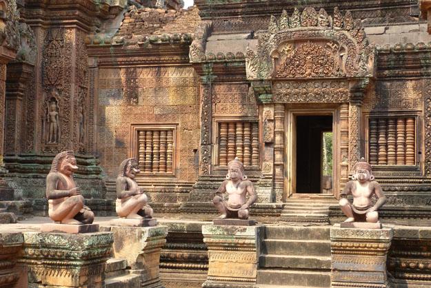 temple de Bantei Srey