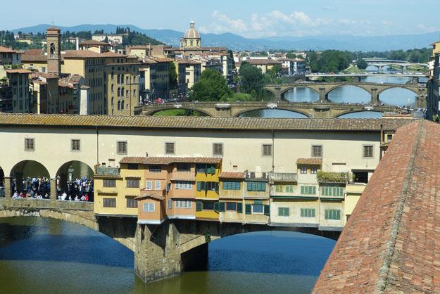 Vue sur l'Arno