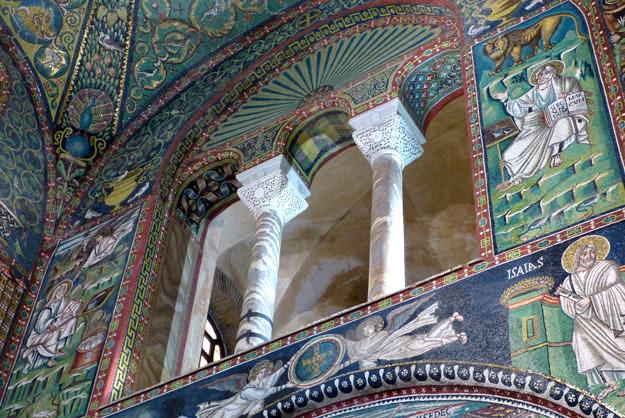 Basilique San Vitale, intérieur