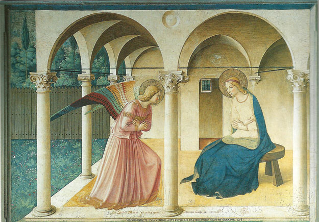 Fra Angelico : Annonciation