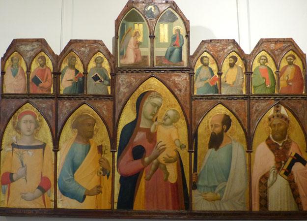 Lorenzetti : retable bois