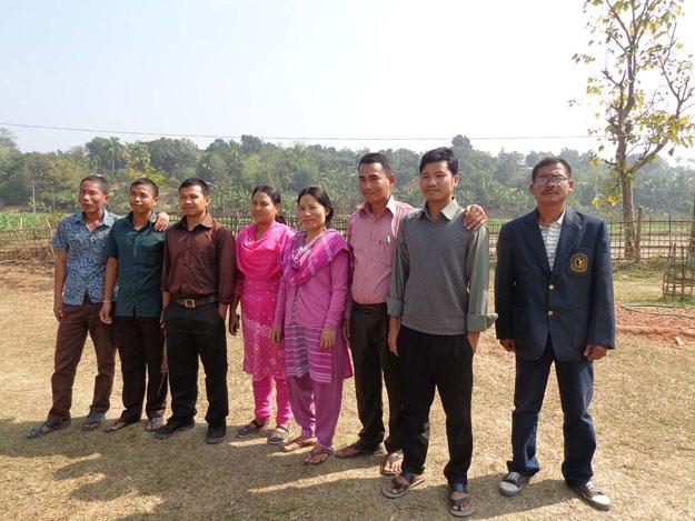 l'équipe des professeurs du collège