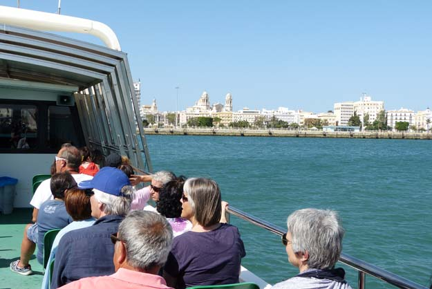 Bateau-bus vers Cadix