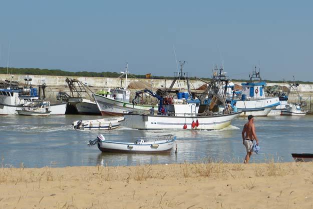 Sanlucar : le port