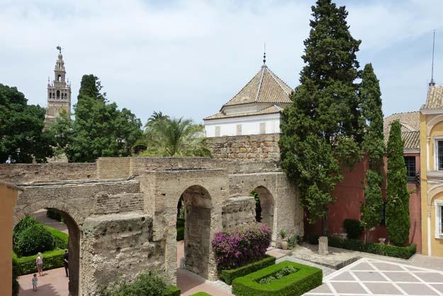 Séville : entrée de l'Alcazar