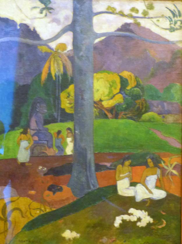Musée Thyssen-Bornemisza : Gauguin, Mata Mua 1892