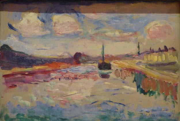 Musée Thyssen-Bornemisza  : Matisse, canal du midi 1898