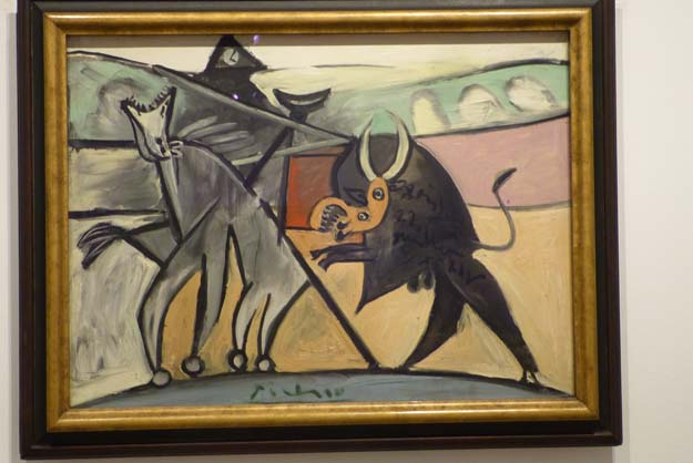 Musée Thyssen-Bornemisza : Picasso, torero 1934