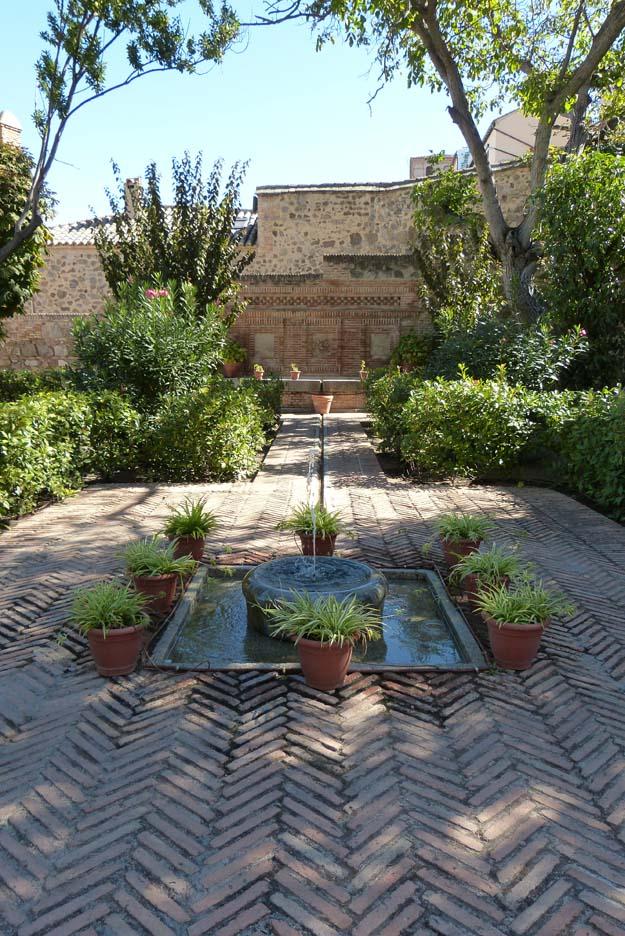 jardins de la mosquée