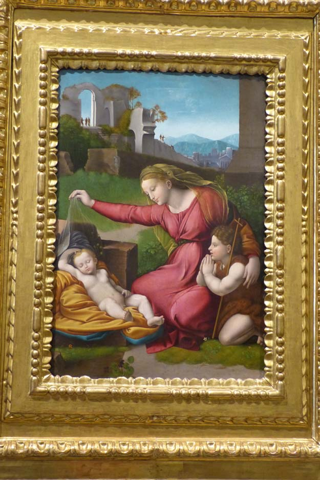 Raphael, la Vierge et l'enfant - cathédrale de Tolède