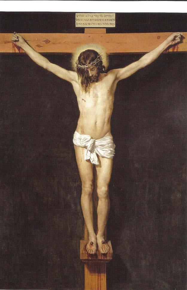 Prado : Velazquez, Cristo crucificado 1630-35