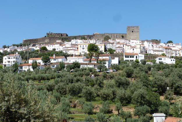 La ville fortifiée de Marvâo