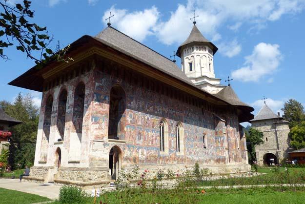 Le monastère de Moldoviţa