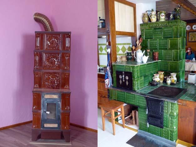 Poêles à bois en céramique
