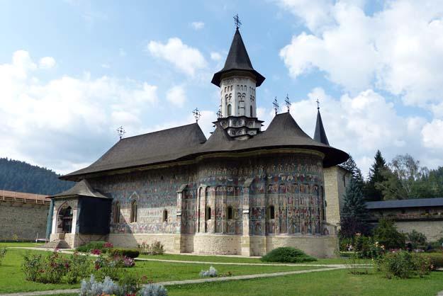Le monastère de Suceviţa