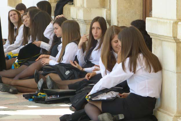 Etudiantes de l'université, Coimbra