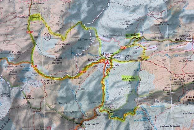 Trois randonnées à partir du village