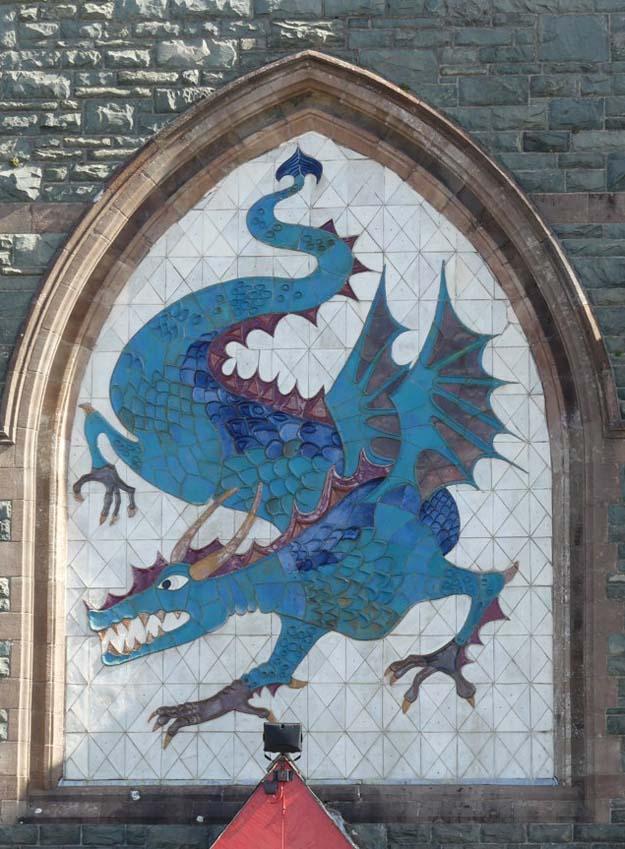 Le dragon, emblème du Pays de Galles