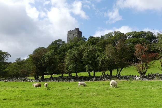 Le château de Dolwyddelan