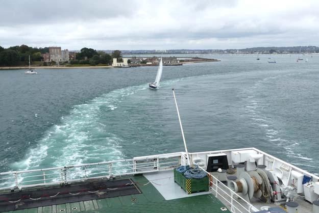 Le départ de Poole